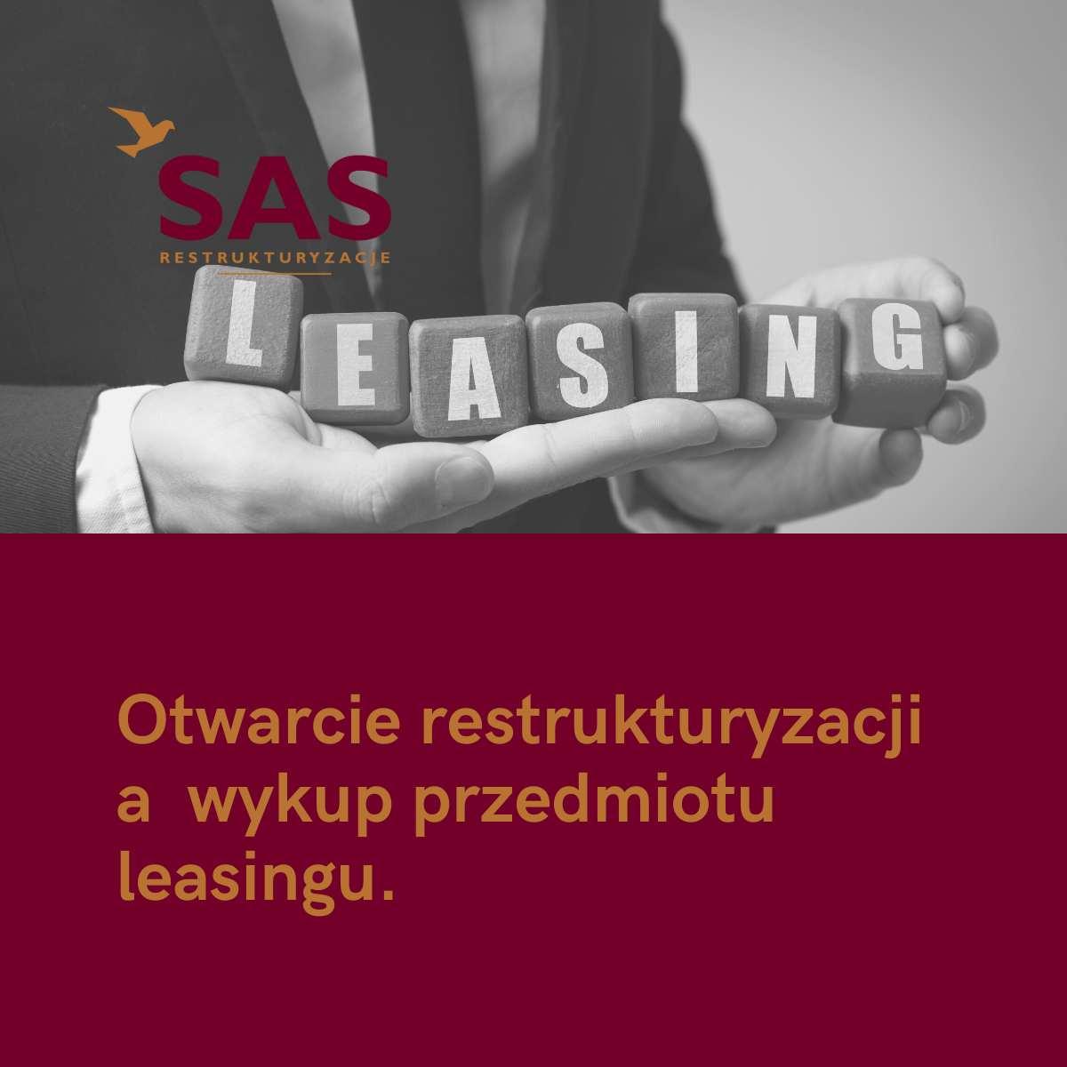 Restrukturyzacja a wykup przedmiotu leasingu